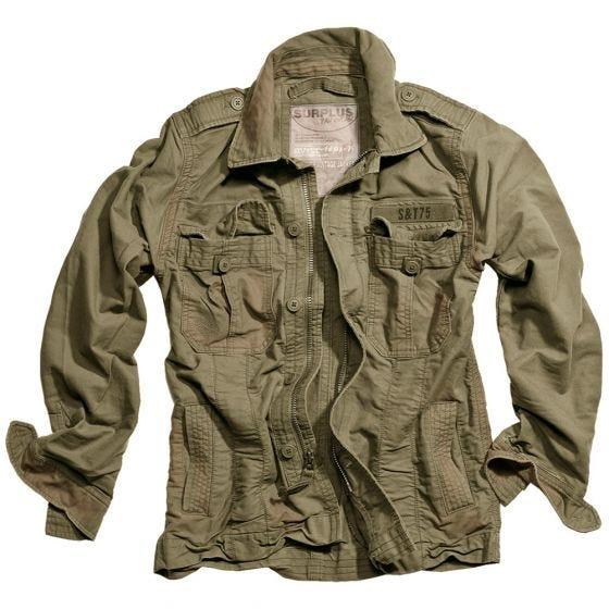 Куртка Surplus Heritage Vintage - Оливковый