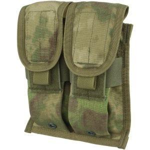 Двойной Подсумок для Магазинов Flyye M4/M16 Ver. FE MOLLE - A-TACS FG