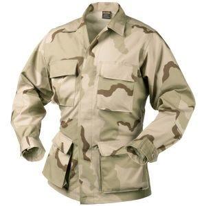 Рубашка Helikon BDU из Оригинального Коттона Ripstop - Пустынный 3-Цветный