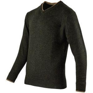 Пуловер с Клиновидным Вырезом Jack Pyke Ashcombe - Темная Олива