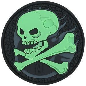 Патч Maxpedition Skull - GLOW
