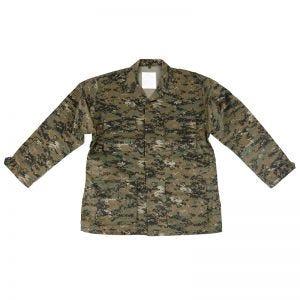 Военные Рубашки Mil-Tec BDU - Digital Woodland