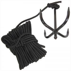 Страхующая Веревка Mil-Tec - Черный