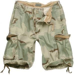 Surplus Vintage Shorts Washed 3-Desert